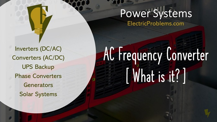 Ac Frequency Converter  What Is It